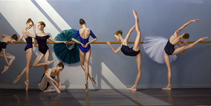 Lesson In Ballet Class