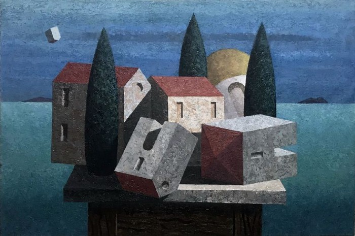 Stillife With Houses